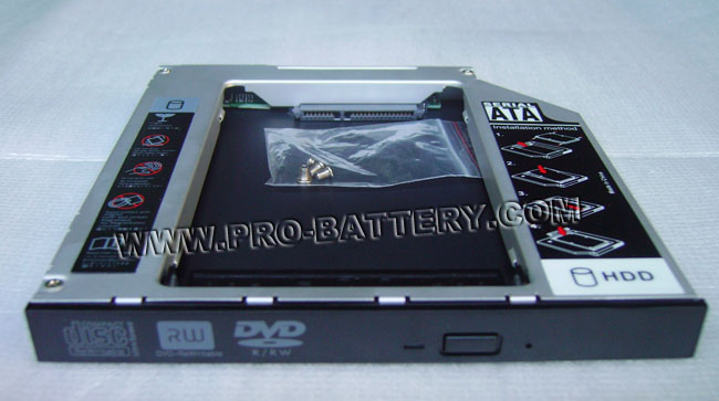 2nd Hard Drive HDD Caddy Bay for HP Pavilion dv5 dv5-1235dx dv5-1002nr