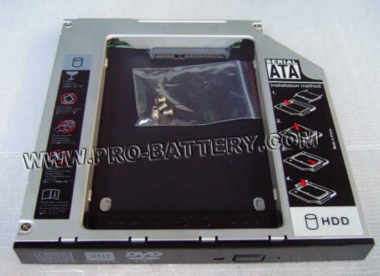SATA 2nd Hard Drive HDD/SSD Caddy For HP ProBook 4416s Notebook PC