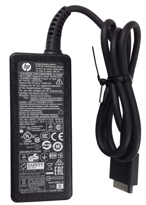 New Original HP 15V 1.33A 20W AC Adapter Charger For ENVY x2 11-g024TU