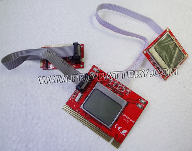 Desktop Laptop PCI-E PCI All-in-one Analyzer Diagnostic POST Test Card