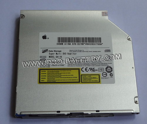 Apple Superdrive HL-DT-ST DVDRW GA11N 678-0576B SATA Slot Load Drive