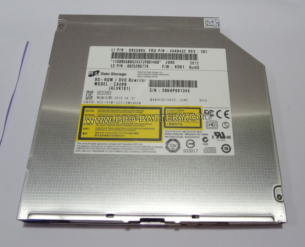Dell Studio 1537 1737 6X Blu-ray BD-ROM Reader Drive