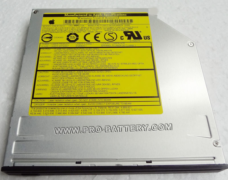 Apple Mac mini G4/1.25, M9686LL/B,A1103 (EMC 2026) CD/DVD Drive