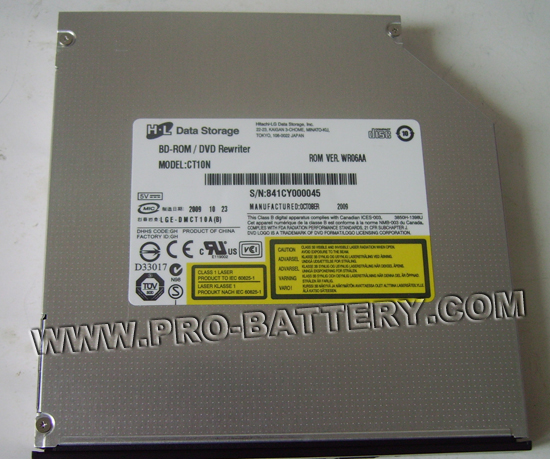 HL-DT-ST CT10N SATA Blu-Ray Player Drive Laptop DVD RW Burner