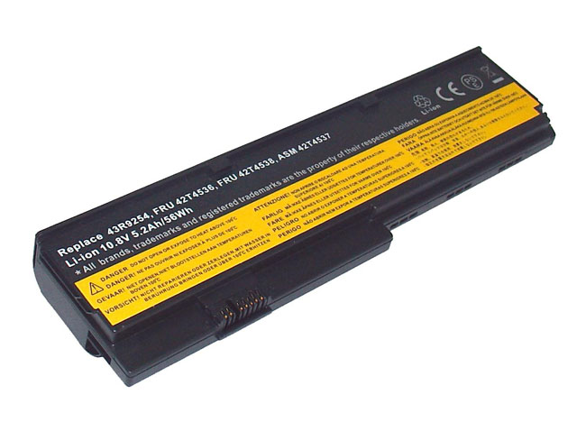 Battery for Lenovo ThinkPad X201-3323 X200-7458 10.8V,5200mAh