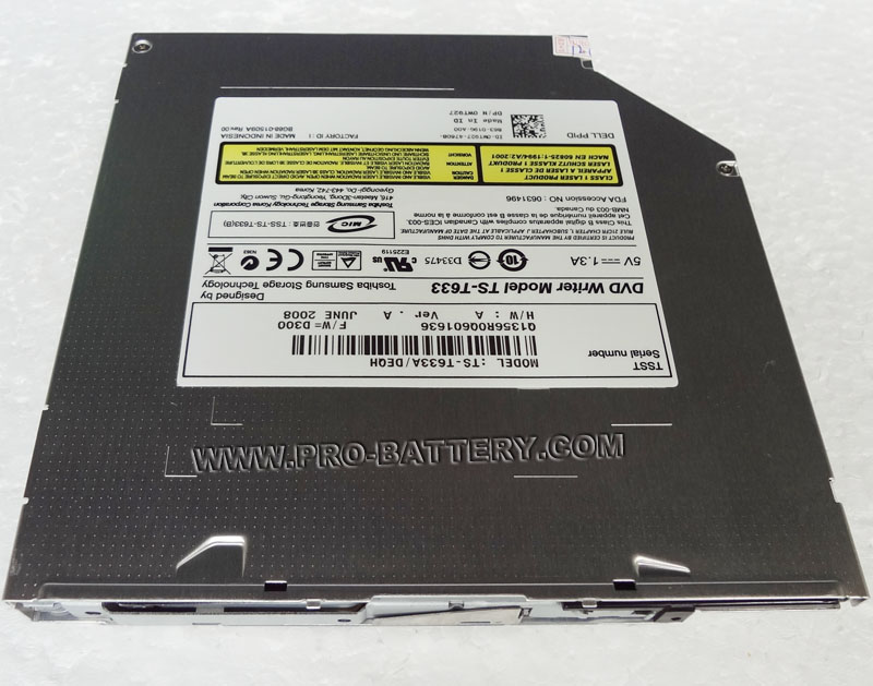 Dell Studio 1557 1558 DVD RW Burner Drive Slot load TS-T633