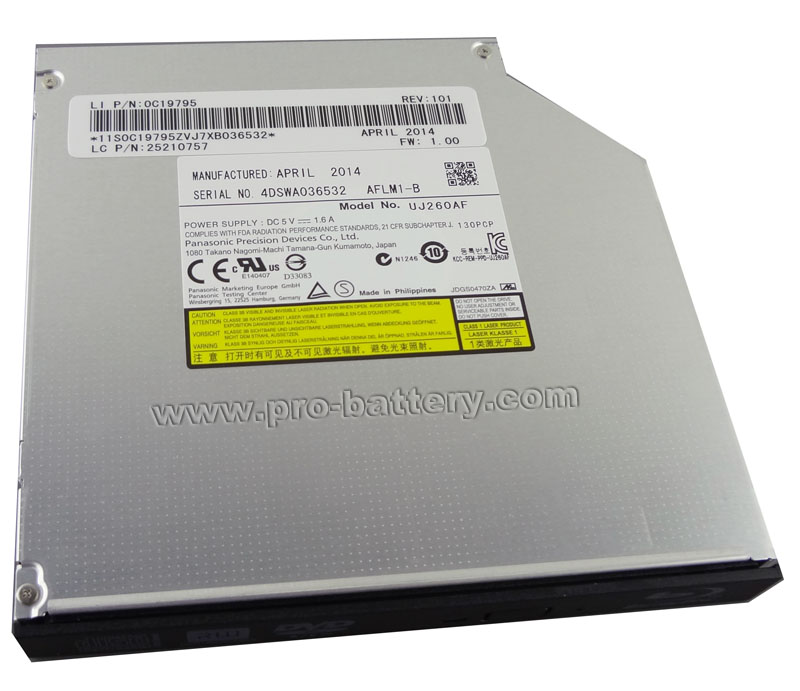 USB 2.0 External CD//DVD Drive for Acer Aspire V7-481p-6455