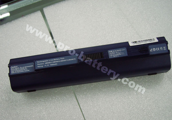 Battery for Acer Aspire One ZG8 751 AO751 751H AO751h 7800mAh