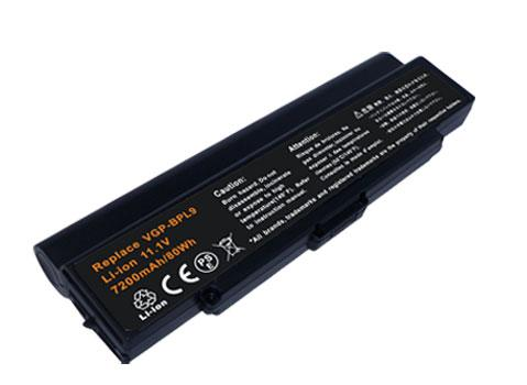 Battery For SONY VGP-BPS9 VGP-BPL9C VAIO VGN-AR550E VGN-AR61S