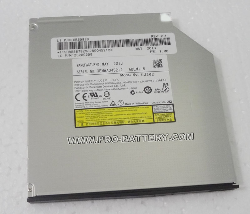 Panasonic UJ262 UJ-262 UJ262A Blu-ray BD-RE Rewriter Drive